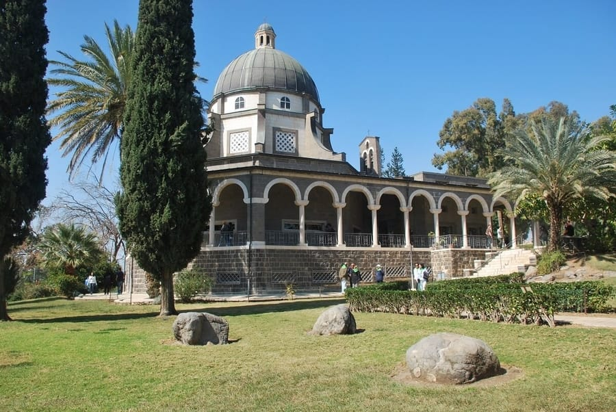 Mount of Beautitudes, the location of the Sermon on the Mount