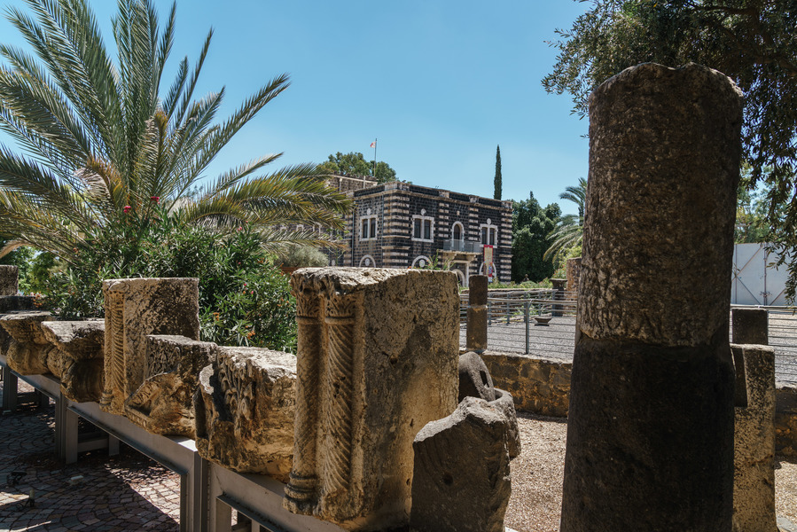 Capernaum believed to have been the home of Saint Peter