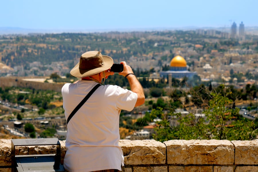 Mount Scopus is a famous Holy Land place and it has a fantastic view to the Old Jerusalem.