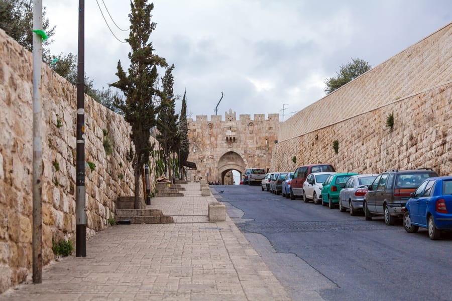The Lion's Gate in Jerusalem
