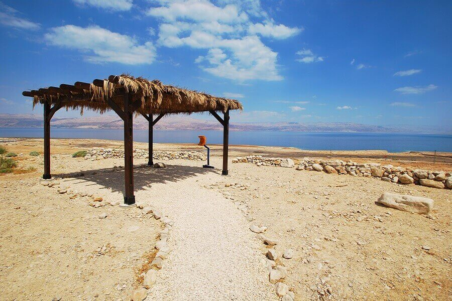 At the Dead Sea, Israel.
