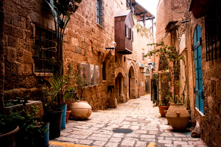 Old city Jaffa, Tel Aviv - Israel