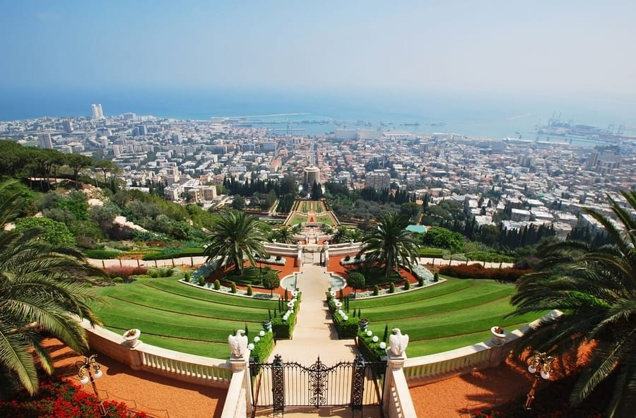 The Bahai Garden - The Most Holy Site of the Bahai Faith