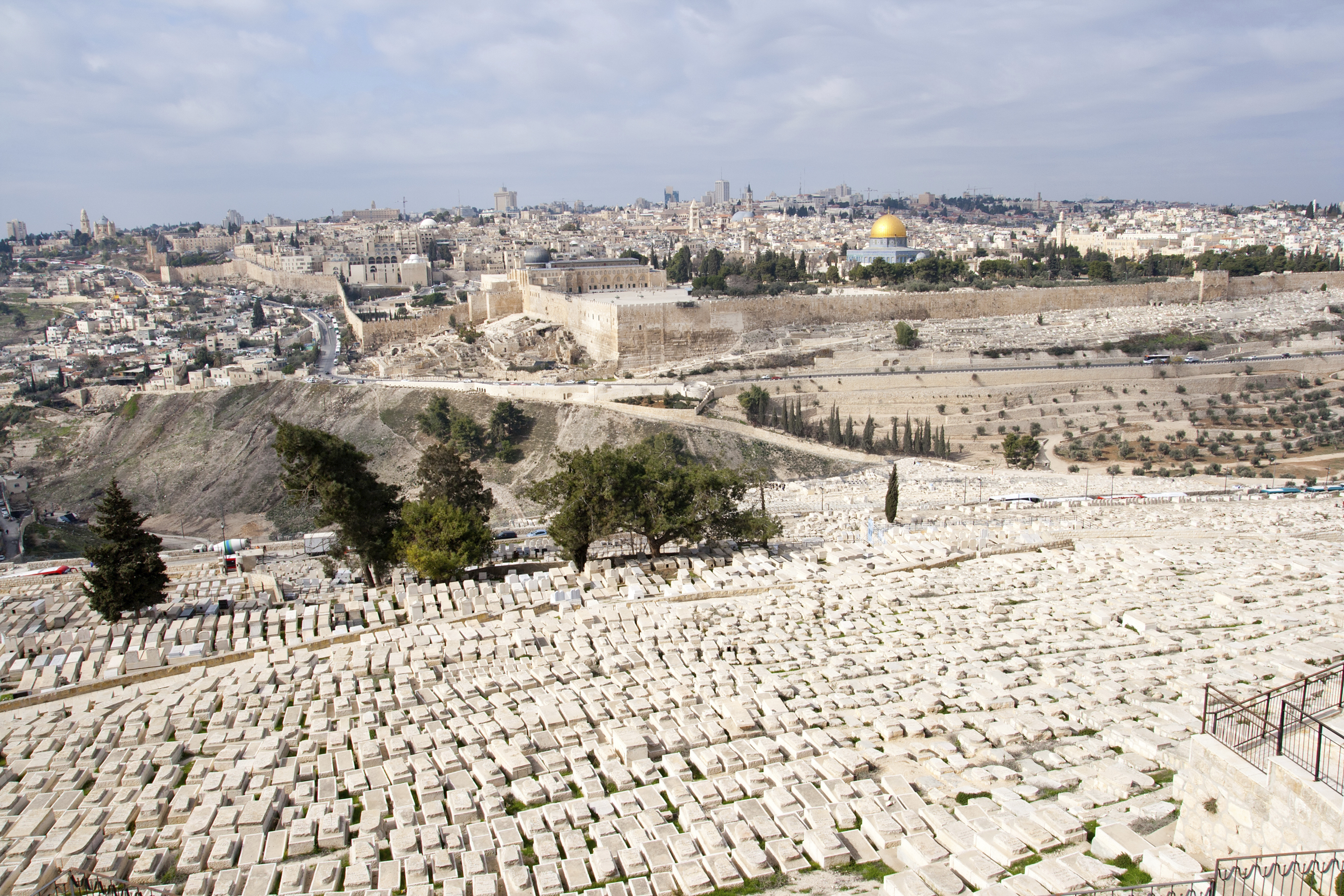 Panoramic overview of Jerusalem