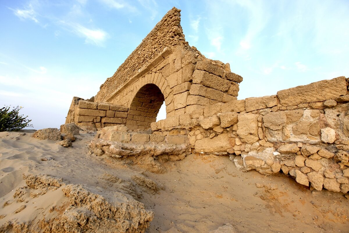 The Amazing Archaeological Ruins and Excavations, Caesarea National Park