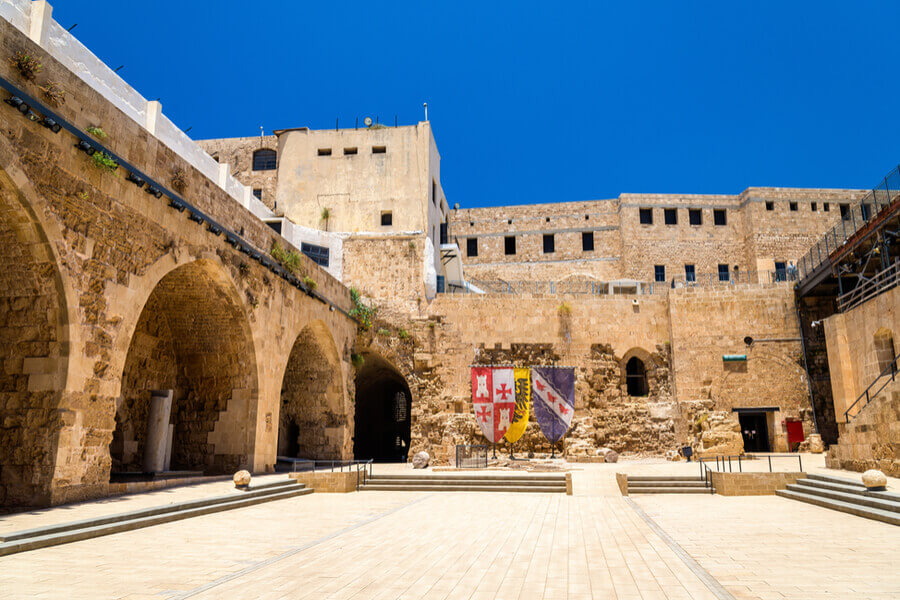 Crusader City, a UNESCO Heritage Site, Acre.